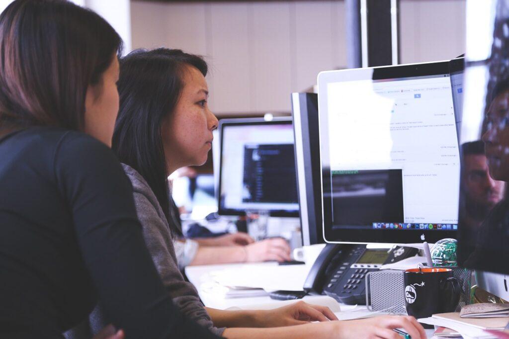 Team of web designers
