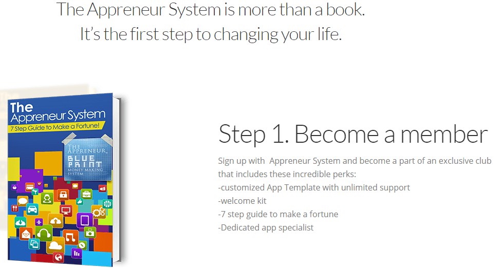Appreneur System Website