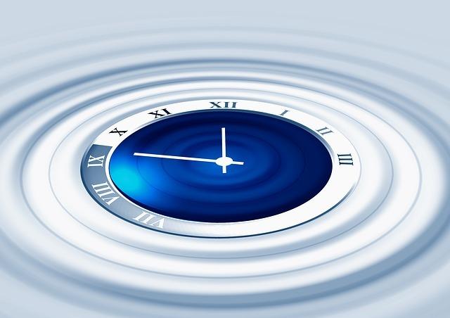 clock going backwards