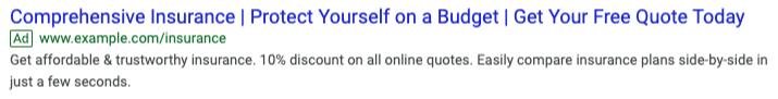 Google Text Ad.